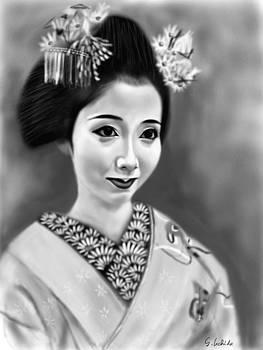 Geisha No.128 by Yoshiyuki Uchida