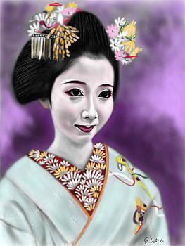 Geisha No.129 by Yoshiyuki Uchida