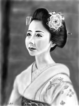 Geisha No.130 by Yoshiyuki Uchida
