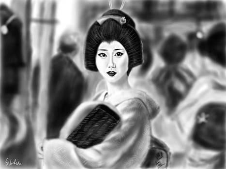 Geisha No.132 by Yoshiyuki Uchida