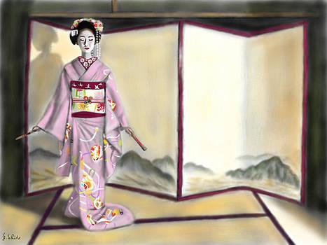 Geisha No.143 by Yoshiyuki Uchida
