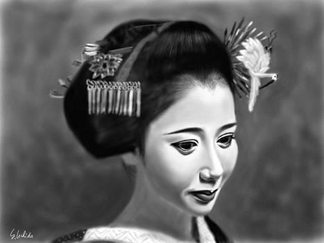 Geisha No.144 by Yoshiyuki Uchida