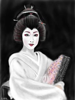 Geisha No.155 by Yoshiyuki Uchida
