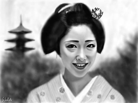 Geisha No.164 by Yoshiyuki Uchida