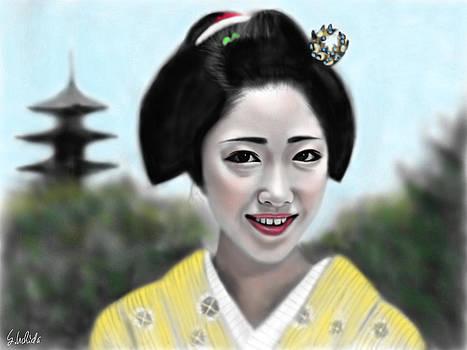 Geisha No.165 by Yoshiyuki Uchida