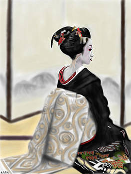 Geisha No.167 by Yoshiyuki Uchida