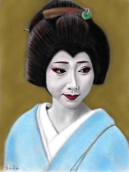 Geisha No.179 by Yoshiyuki Uchida