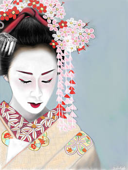 Geisha No.180 by Yoshiyuki Uchida