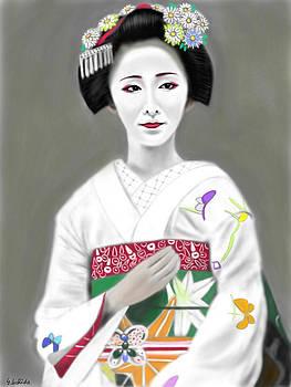 Geisha No.183 by Yoshiyuki Uchida