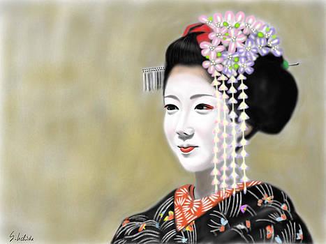 Geisha No.184 by Yoshiyuki Uchida