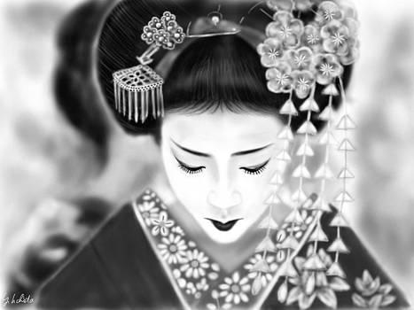 Geisha No.186 by Yoshiyuki Uchida