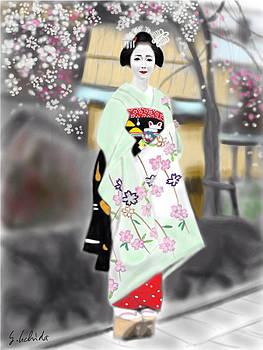 Geisha No.187 by Yoshiyuki Uchida