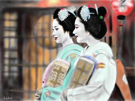 Geisha No.56 by Yoshiyuki Uchida