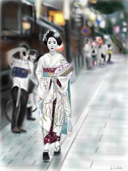 Geisha No.63 by Yoshiyuki Uchida
