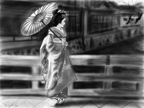 Geisha No.67 by Yoshiyuki Uchida