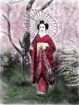 Geisha No.70 by Yoshiyuki Uchida
