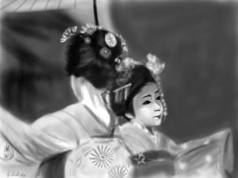 Geisha No.73 by Yoshiyuki Uchida