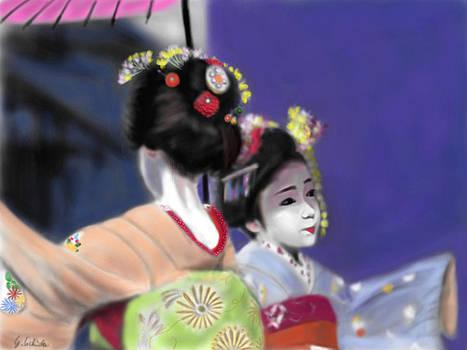 Geisha No.74 by Yoshiyuki Uchida