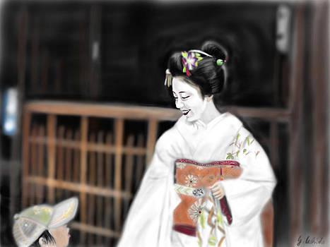Geisha No.76 by Yoshiyuki Uchida