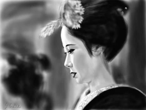 Geisha No.77 by Yoshiyuki Uchida