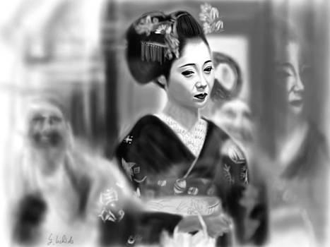 Geisha No.79 by Yoshiyuki Uchida