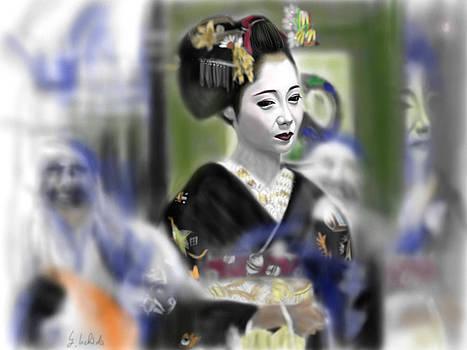 Geisha No.80 by Yoshiyuki Uchida