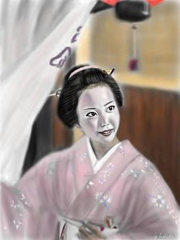Geisha No.81 by Yoshiyuki Uchida