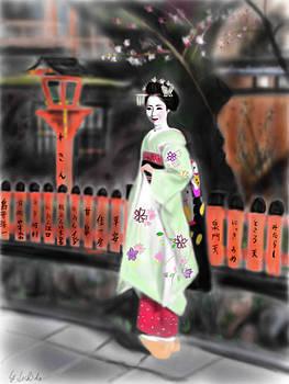 Geisha No.83 by Yoshiyuki Uchida