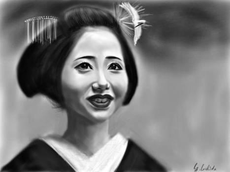 Geisha No.86 by Yoshiyuki Uchida