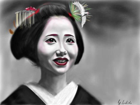 Geisha No.87 by Yoshiyuki Uchida
