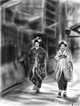 Geisha No.88 by Yoshiyuki Uchida
