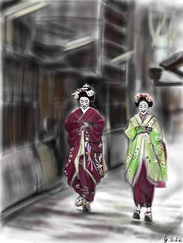 Geisha No.89 by Yoshiyuki Uchida