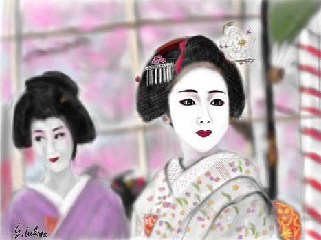 Geisha No.93 by Yoshiyuki Uchida