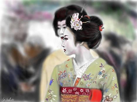 Geisha No.95 by Yoshiyuki Uchida