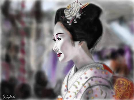 Geisha No.96 by Yoshiyuki Uchida