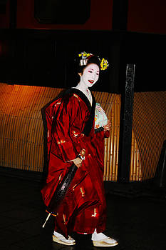 Geisha's Smile by David Kacey