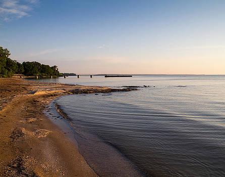 Gem Beach Morning  by Tim Fitzwater