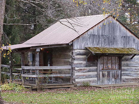 General Store Back by Melissa Lightner