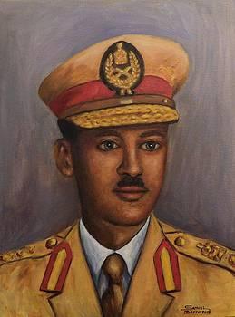 General Taddessee Birruu by Samuel Daffa