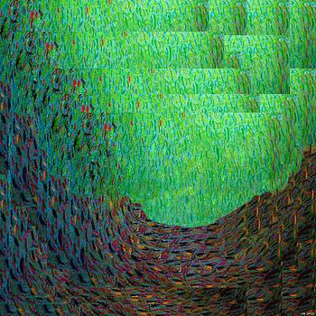 Genesis abstraction by Anders Hingel