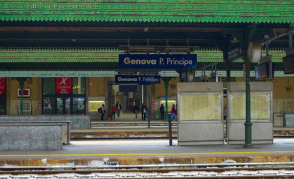 Genova Train Station by August Timmermans