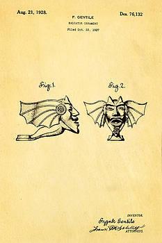 Ian Monk - Gentile Radiator Ornament Patent Art 1928