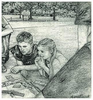 Geoff and Tamara by Amy Frank