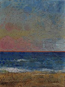 Geometric Beach by Beth Maddox