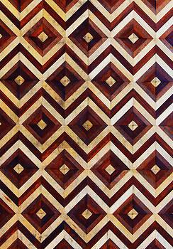 Geometric Inlay Design by Jennifer Muller
