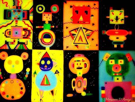 Maryann  DAmico - Geometrical Characters 2