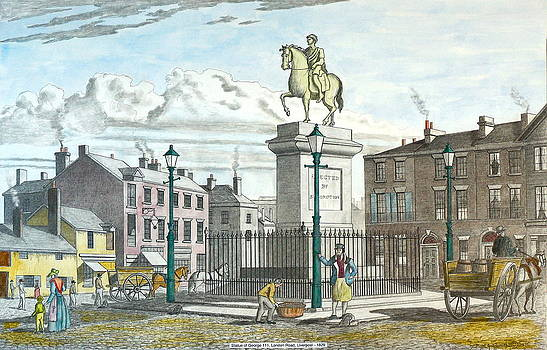 George 111 Statue Liverpool by William Goldsmith