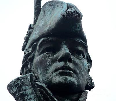 George Armistead Statue Head by Cynthia Snyder
