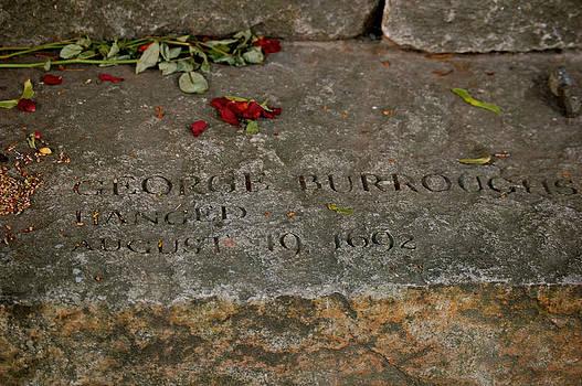 Sherlyn Morefield Gregg - George Burroughs Memorial