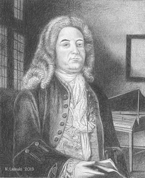 George Frideric Handel by Norb Lisinski